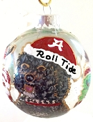 Portuquese Water Dog Christmas Ornament