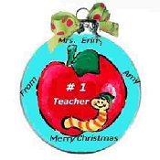 Teacher Christmas Ornaments