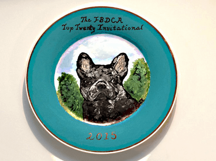 Dog Plates Collectible-Dog Collector Plates
