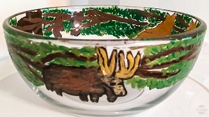 Rustic Dinnerware, Wildlife Dinnerware