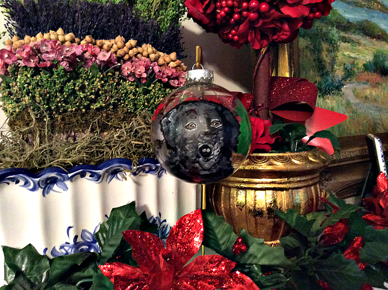 Black Lab Ornaments
