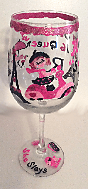 Wine Goblets, Unique Wine Glasses of Paris
