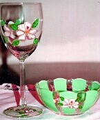 Magnolia Wine Glasses A Southern Tradition