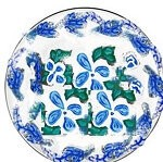 Salad Plates In Blue and White Savoy