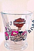 Hand painted Harley Davidson Coffee or Beer  Mug