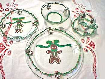 Gingerbread Dinnerware-Plates