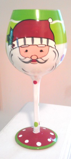 Santa glasses, Christmas Santa Claus