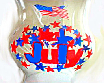 Hurricane Globe-Patriotic Theme