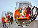 Thanksgiving Glasses, Thanksgiving Glassware|Clearly Susan