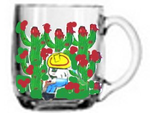 Clearly Susan's Custom Painted Coffee Mugs In Mexican Designs Art