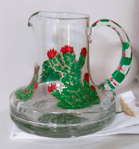 Hand painted Margarita Pitchers | Margarita Sets  | Clearly Susan