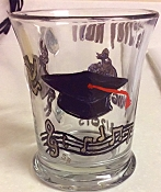 Graduation Mugs Hand painted In School Designs | Graduation Gifts