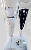 Champagne Wedding Glasses