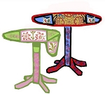 Hand painted Drop Leaf Table