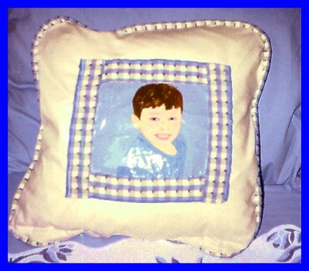 Portraits On Pillows of Children