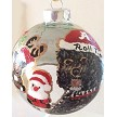 Alabama Ornament with Portuquese Water Dog