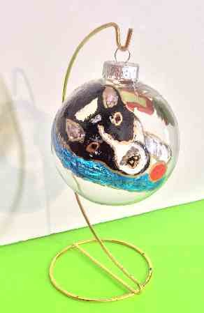 Hand painted Dog Ornaments Of All Breeds
