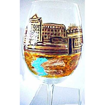 Custom Wine Glasses of the French Countryside