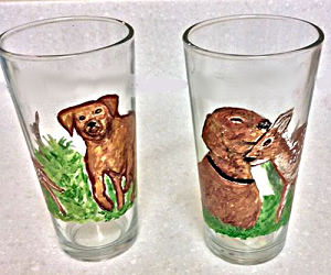 Hunting Dog Glasses True Hunter