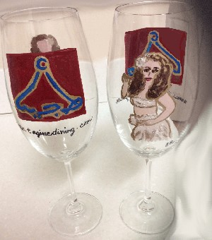 Hand painted Corporate Gifts With Your Company's Brand