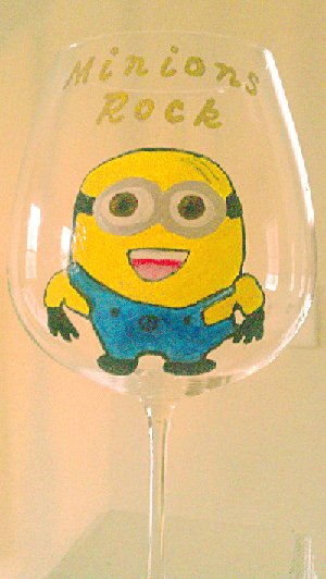 Get All Minions To Rock Glasses