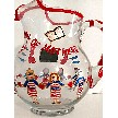 Veterans Day Gifts In Navy Wine Glasses