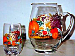 Thanksgiving Glasses, Thanksgiving Glassware