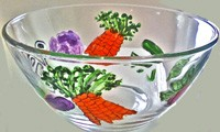 Salad Bowl  Vegetable Design