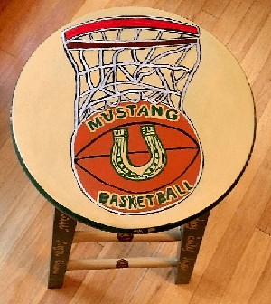 Hand painted Stools For Sale  Clearly Susan
