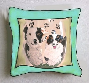 Dog Pillows | Decorative Dog Pillows